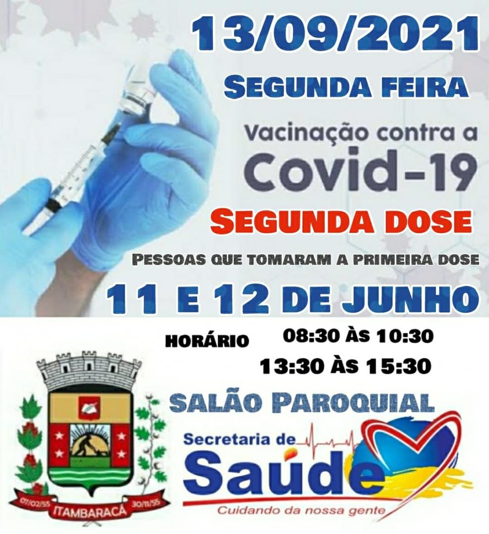Vacinação COVID-19 - 13/09/2021