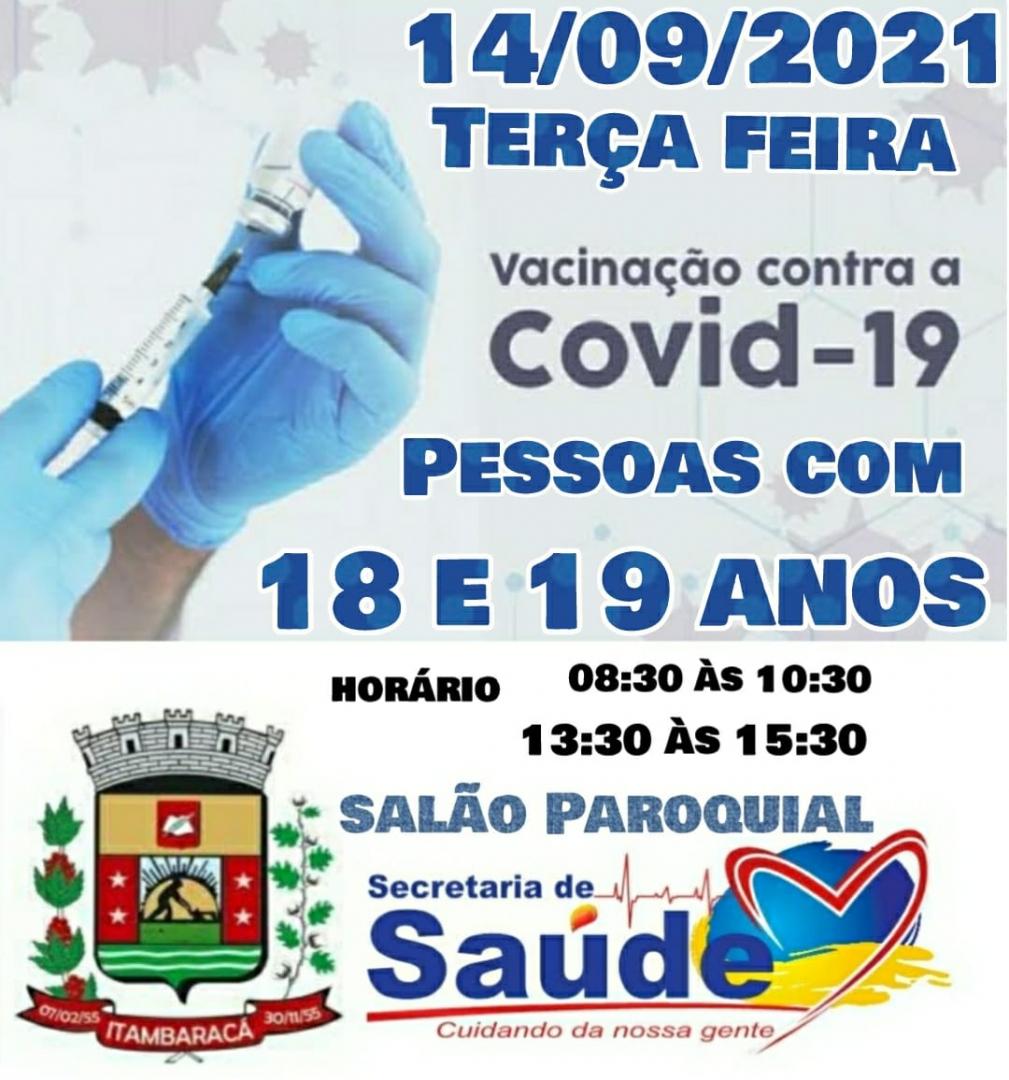 Vacinação - 14/09/2021