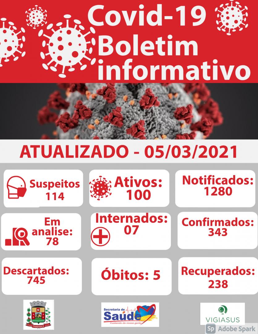 Boletim COVID-19 05/03/2021