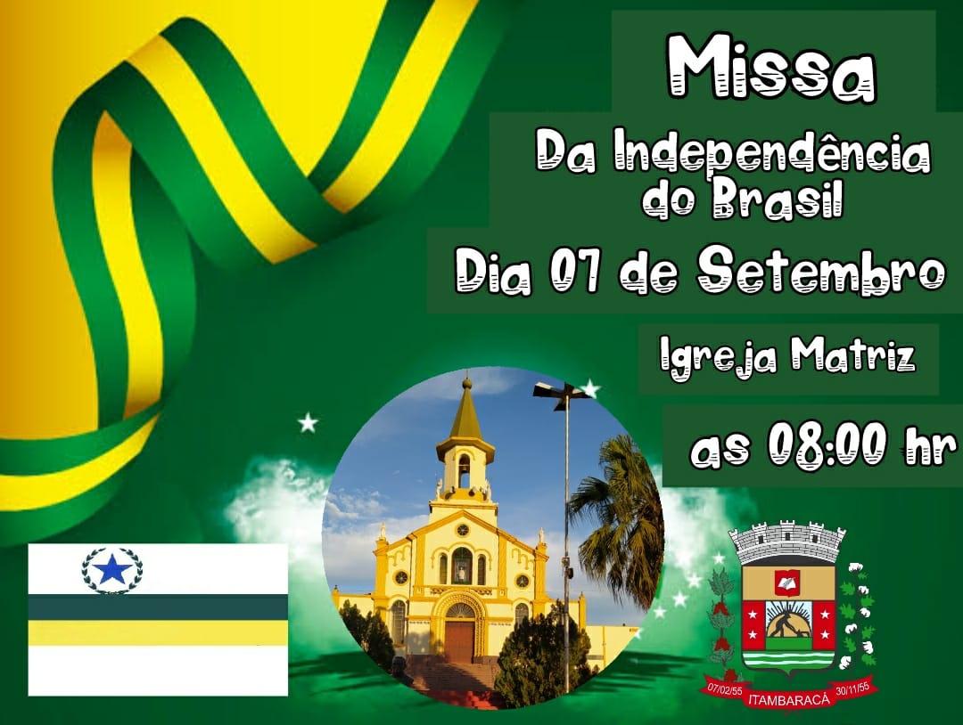 Missa da independência do Brasil