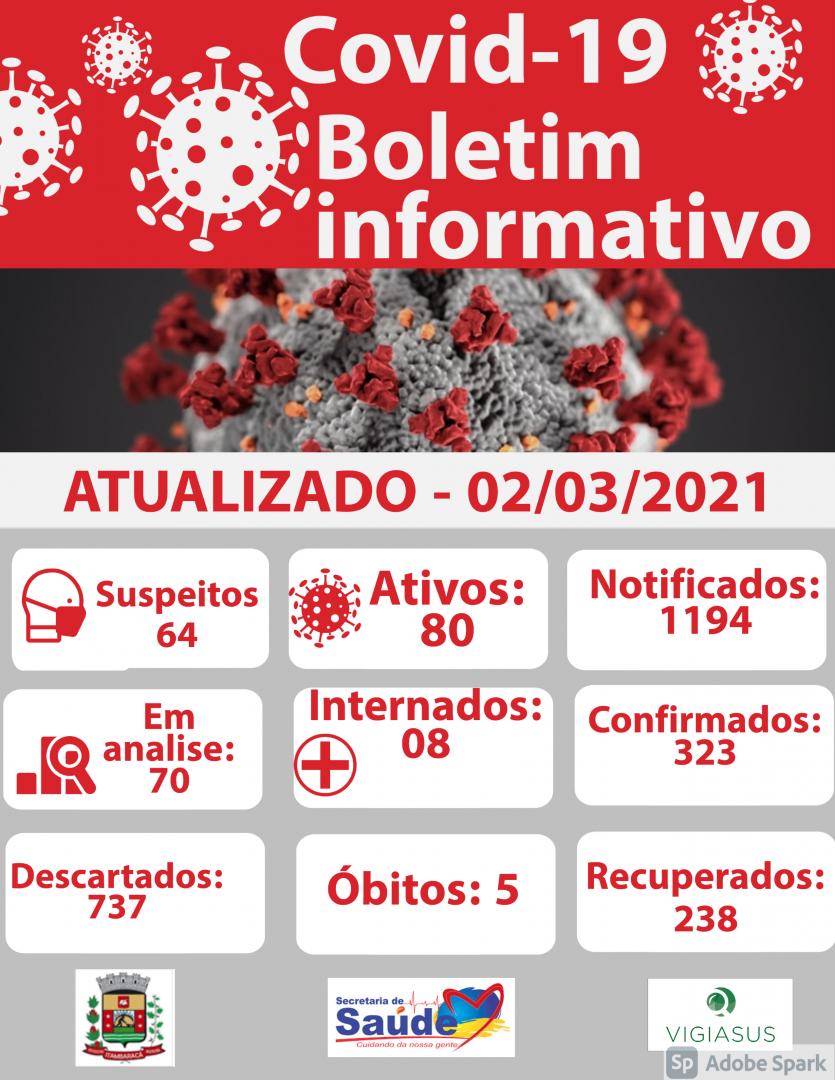 Boletim COVID-19 02/03/2021
